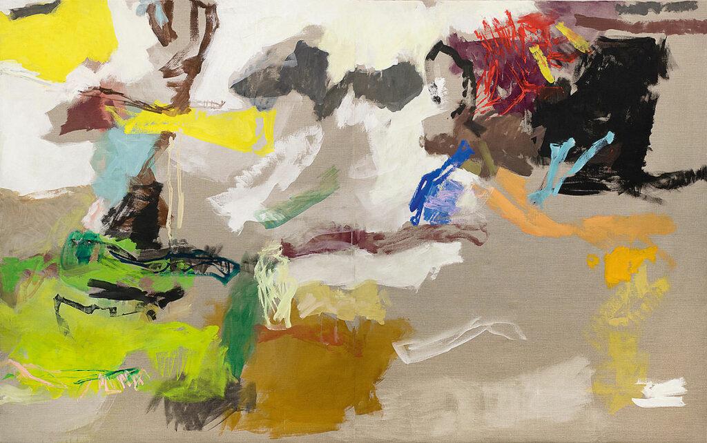Abstraktes Landschaftsbild