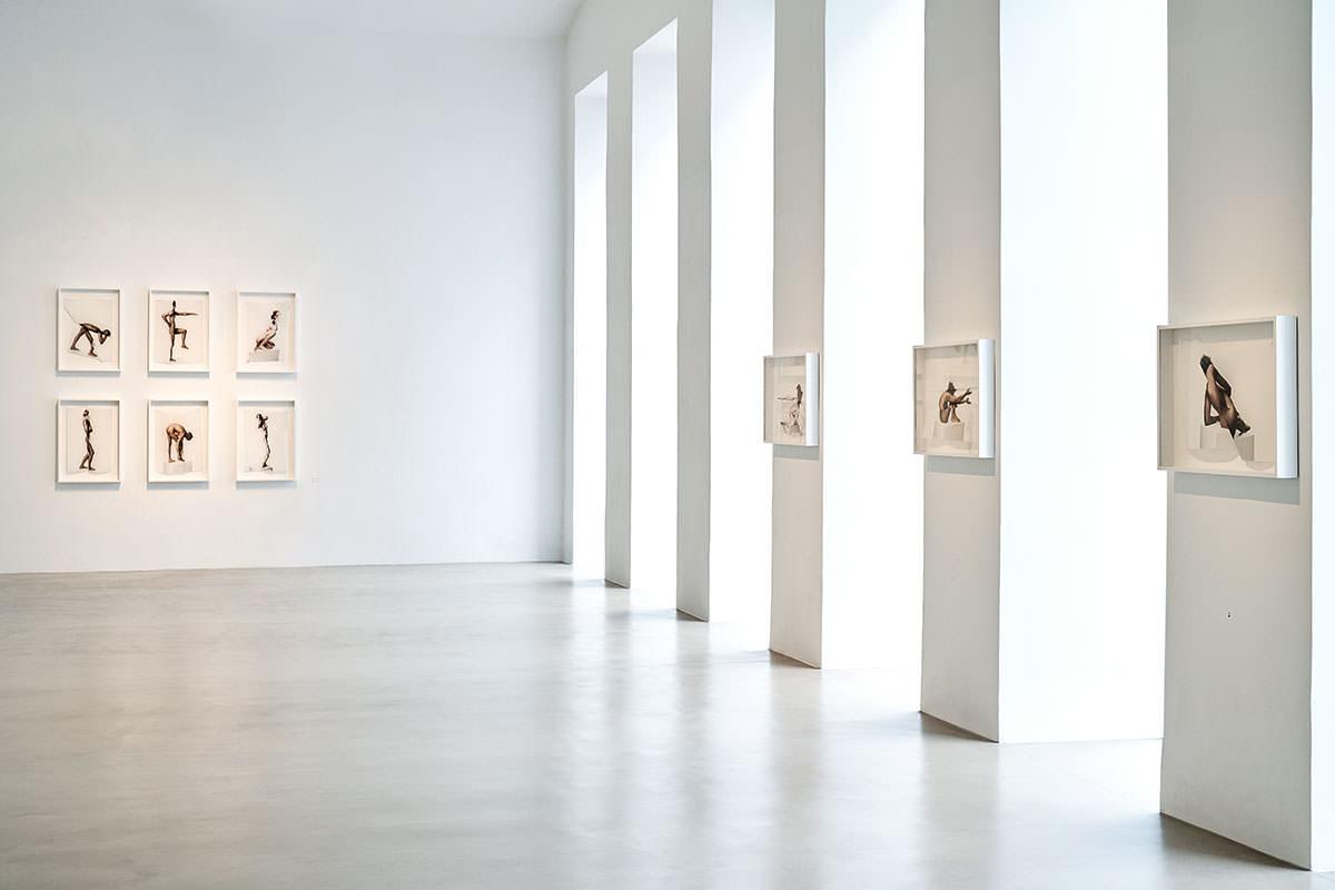 Blick in die ZS art Galerie, Fensterfront
